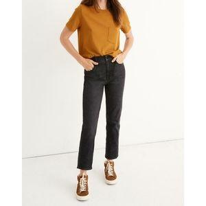 BANANA REPUBLIC cropped straight leg jeans